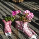 La Conner Pink Sneaker Planters