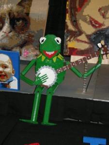 Kermit the Frog Lego