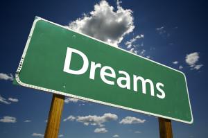 Dreams Road Sign