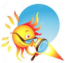 A hot sun