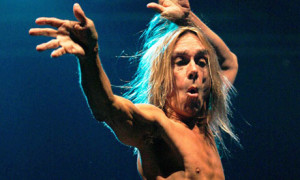 Iggy Pop on Stage